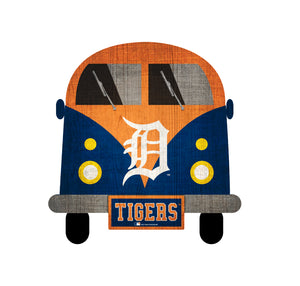 Detroit Tigers Team Bus Sign