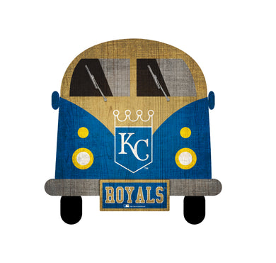 Kansas City Royals Team Bus Sign