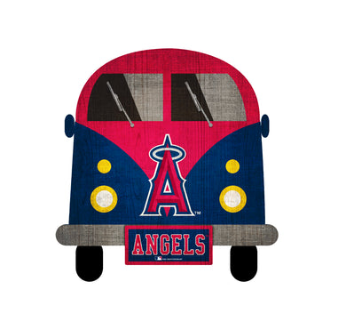 Los Angeles Angels Team Bus Sign