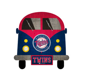 Minnesota Twins Team Bus Sign