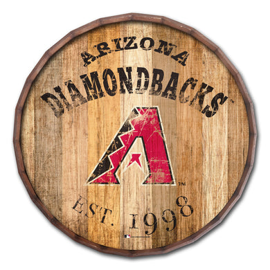 Arizona Diamondbacks Established Date Barrel Top - 16