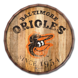 Baltimore Orioles Established Date Barrel Top