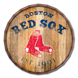 Boston Red Sox Established Date Barrel Top - 16""