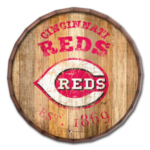 Cincinnati Reds Established Date Barrel Top - 16""
