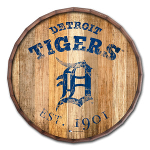 Detroit Tigers Established Date Barrel Top