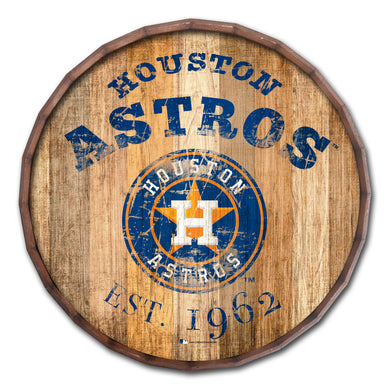 Houston Astros Established Date Barrel Top