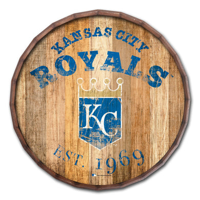 Kansas City Royals Established Date Barrel Top - 16