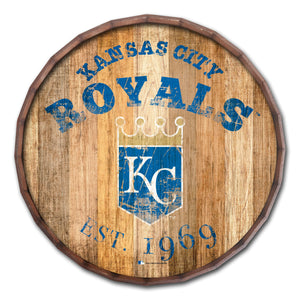 Kansas City Royals Established Date Barrel Top - 16""