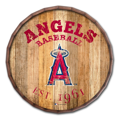 Los Angeles Angels Established Date Barrel Top