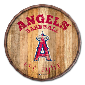 Los Angeles Angels Established Date Barrel Top - 16""