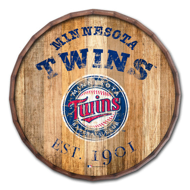 Minnesota Twins Established Date Barrel Top