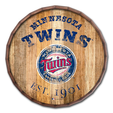 Minnesota Twins Established Date Barrel Top - 16