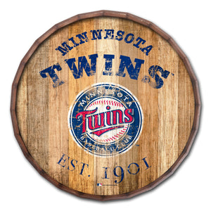 Minnesota Twins Established Date Barrel Top - 16""