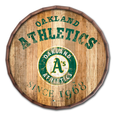 Oakland Athletics Established Date Barrel Top