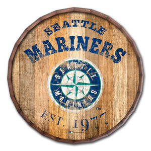 Seattle Mariners Established Date Barrel Top