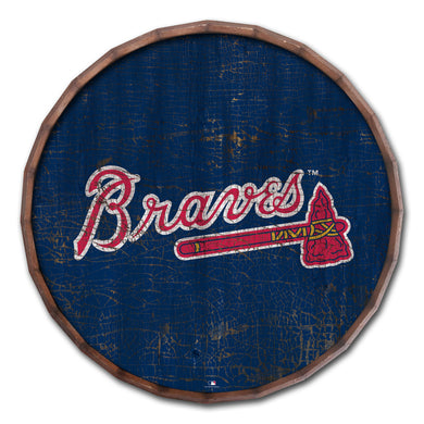 Atlanta Braves Cracked Color Barrel Top - 24