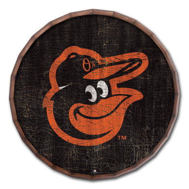 Baltimore Orioles Cracked Color Barrel Top - 24