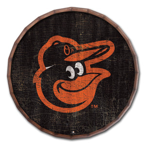 Baltimore Orioles Cracked Color Barrel Top - 24""