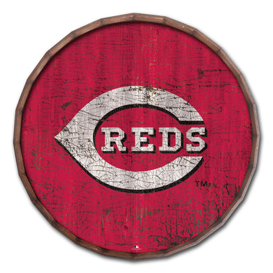 Cincinnati Reds Cracked Color Barrel Top - 16