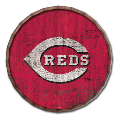 Cincinnati Reds Cracked Color Barrel Top - 24