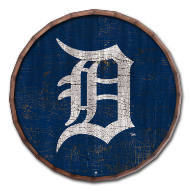 Detroit Tigers Cracked Color Barrel Top - 16