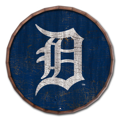 Detroit Tigers Cracked Color Barrel Top - 24
