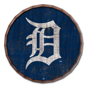 Detroit Tigers Cracked Color Barrel Top - 24""