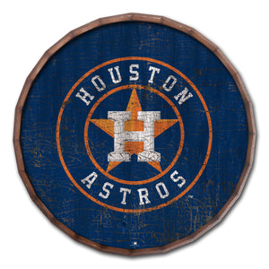 Houston Astros Cracked Color Barrel Top - 24""