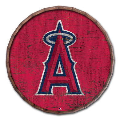 Los Angeles Angels Cracked Color Barrel Top - 16