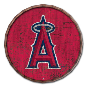 Los Angeles Angels Cracked Color Barrel Top - 16""