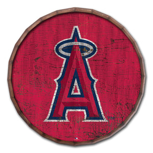 Los Angeles Angels Cracked Color Barrel  Top - 24""