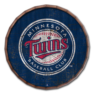 Minnesota Twins Cracked Color Barrel Top - 16""