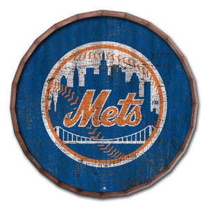New York Mets Cracked Color Barrel Top - 16""