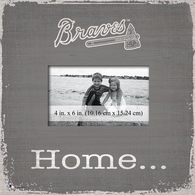 Atlanta Braves Home Picture Frame