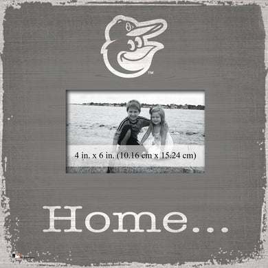 Baltimore Orioles Home Picture Frame