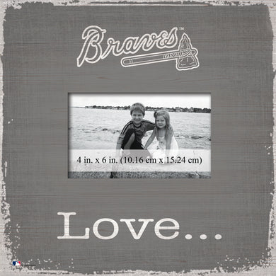 Atlanta Braves Love Picture Frame