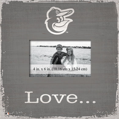 Baltimore Orioles Love Picture Frame