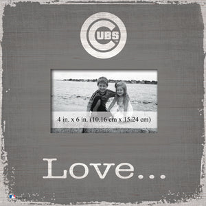 Chicago Cubs Love Picture Frame