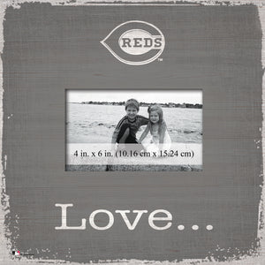 Cincinnati Reds Love Picture Frame