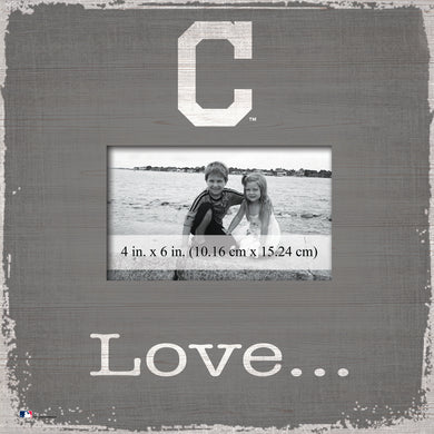 Cleveland Indians Love Picture Frame