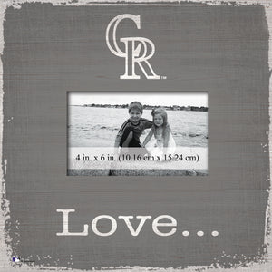 Colorado Rockies Love Picture Frame