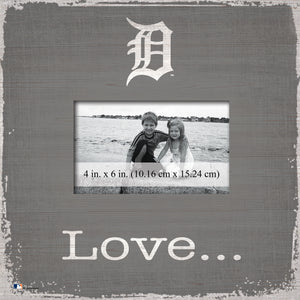 Detroit Tigers Love Picture Frame
