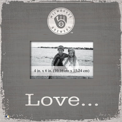 Milwaukee Brewers Love Picture Frame