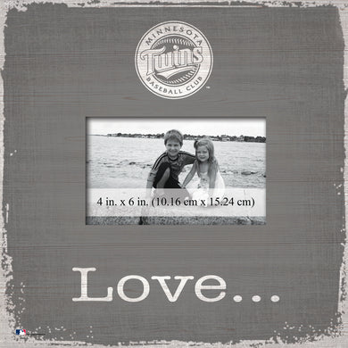 Minnesota Twins Love Picture Frame