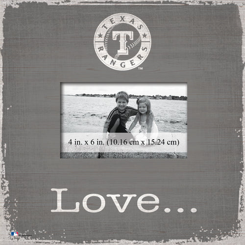 Texas Rangers Love Picture Frame