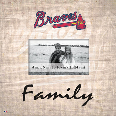 Atlanta Braves Family Picture Frame