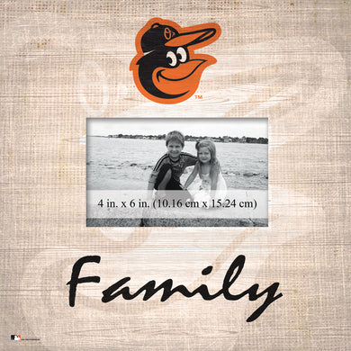 Baltimore Orioles Family Picture Frame