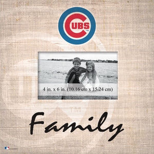 Chicago Cubs Family Picture Frame