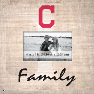 Cleveland Indians Family Picture Frame