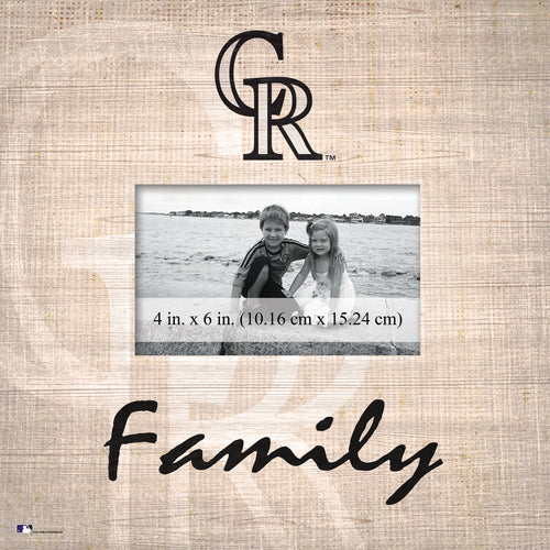 Colorado Rockies Family Picture Frame